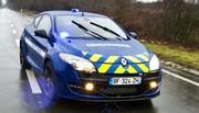 La Renault Mégane R.S. des gendarmes