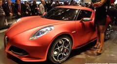 Alfa Romeo Concept 4C, prévue pour 2012