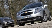 Essai Chevrolet Orlando 2.0 VCDi 163 ch vs Citroën Grand C4 Picasso 2.0 HDi 150 ch : Le choc des cultures