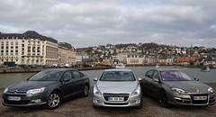 Peugeot 508 à l'essai face à ses concurrentes : Renault Laguna et Citroën C5