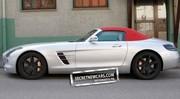 La Mercedes SLS AMG Roadster sans camouflage