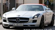 Photos volées : Mercedes SLS Roadster totalement nu
