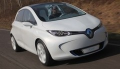 Au volant de la Renault Zoé et des concepts Captur et R-Space !