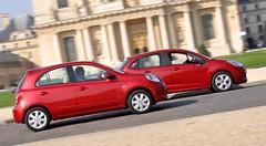 Essai Nissan Micra vs Citroën C3 : duel in the city