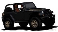 Nouvelle Jeep Wrangler via deux dessins !