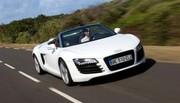 Essai Audi R8 Spyder : Un V8 pour le Spyder R8