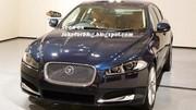 Jaguar XF restylée : première photo sans camouflage