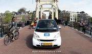 car2go choisit des Smart électriques pour Amsterdam
