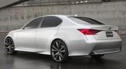 Lexus LF-Gh Project : Une future GS dans l'air ?