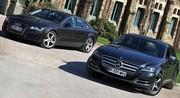 Essai Audi A7 Sportback 3.0 TDI 245 ch vs Mercedes CLS 350 CDI 265 ch : Coupés de maître