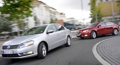 Essai Volkswagen Passat 2.0 TDI 170 DSG vs Opel Insignia 2.0 CDTI 160 BVA : Techno-classiques