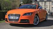 Essai Audi TTS roadster 2.0 TFSI S-Tronic : orange mécanique
