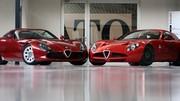 Alfa Romeo Zagato TZ3 Stradale : un coeur de Dodge Viper