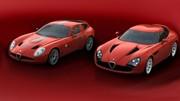 Alfa Romeo Zagato TZ3 : La TZ3 s'aligne au départ