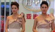 Les hôtesses du salon de Shanghai 2011