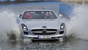 La Mercedes-Benz SLS AMG Roadster en phase de tests