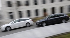 Essai Peugeot 508 SW 1.6 HDi vs Renault Laguna Estate 1.5 dCi : Soutes populaires