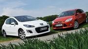 Essai Ford Focus 1.6 TDCi 115 ch vs Peugeot 308 1.6 HDi 112 ch : Un Diesel, deux possibilités