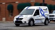 Ford teste le véhicule électrique en Angleterre et en Allemagne : Des tests avec le Transit Connect