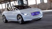 A bord de l'Infiniti Etherea : Une mécanique Mercedes pour la future compacte Infiniti