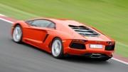 Premier essai Lamborghini Aventador : Entrée en piste