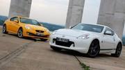Essai Nissan 370Z 328 ch vs Hyundai Genesis Coupé 303 ch