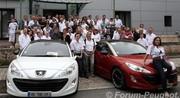 Rassemblement Peugeot RCZ 2011 à Sochaux