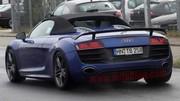 Future Audi R8 GT Spyder: le temps du développement