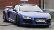 Audi R8 GT Spyder : nouvelles photos