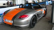 La Porsche Boxster E enlève le haut à Berlin : Une sportive électrique en deux versions