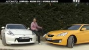 Emission Automoto : Nissan 370 Z vs Hyundai Genesis; Peugeoot 5008; Lancia Ypsilon; anti-radars