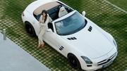 La Mercedes SLS AMG Roadster dévoilée au grand jour