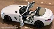 Mercedes SLS AMG roadster, sans toit ni pénalité