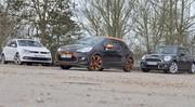 Essai Citroën DS3 Racing vs Mini Cooper S vs Volkswagen Polo GTI : Etre et paraître