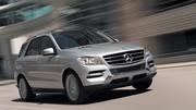 Nouveau Mercedes ML : Plus affûté