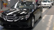 Saab suspend à nouveau la production de ses voitures
