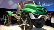 Mercedes présente un concept Unimog excentrique