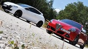 Essai Alfa Romeo Giulietta Quadrifoglio Verde vs Renault Mégane RS Monaco GP : L'art... ou la manière ?