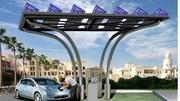 DBT présente une borne de recharge avec capteurs solaires : Un produit innovant et écologique