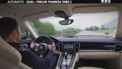 Emission Automoto : coullisses des 24 H du Mans, Essai Panamera Turbo S, Chevrolet Aveo