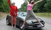 Essai Mercedes SLK par les drôles de dames de Caradisiac