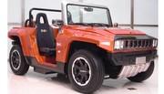 Le retour du Hummer en version mini et électrique : 3 m de long 100 km d'autonomie