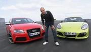 Emission Automoto : Audi RS3 vs Porsche Cayman R; l'éco-conduite; Volvo V60 DrivE