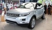 Tour de france du Range Rover Evoque