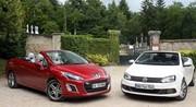 Essai Peugeot 308 CC vs Volkswagen Eos : une place au soleil