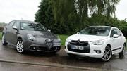 Essai Alfa Romeo Giulietta 2.0 mjt 170 ch vs Citroën DS4 2.0 HDi 160 ch : Victimes de la mode