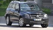 Le Mercedes GLK restylé se dévoile un peu plus