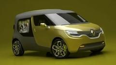 Renault Frendzy Concept : l'utilitaire électrique asymétrique