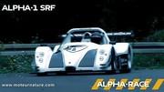 L'E-Wolf Alpha-1 SRF électrique au Nürburgring