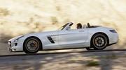 Mercedes SLS Roadster : les prix France